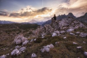Dolomiten-Italy-Sunset 1