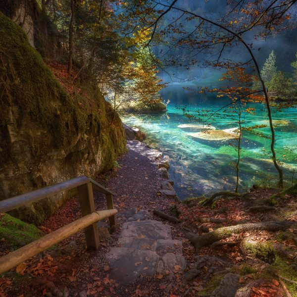 Blausee-Autumn Switzerland 2