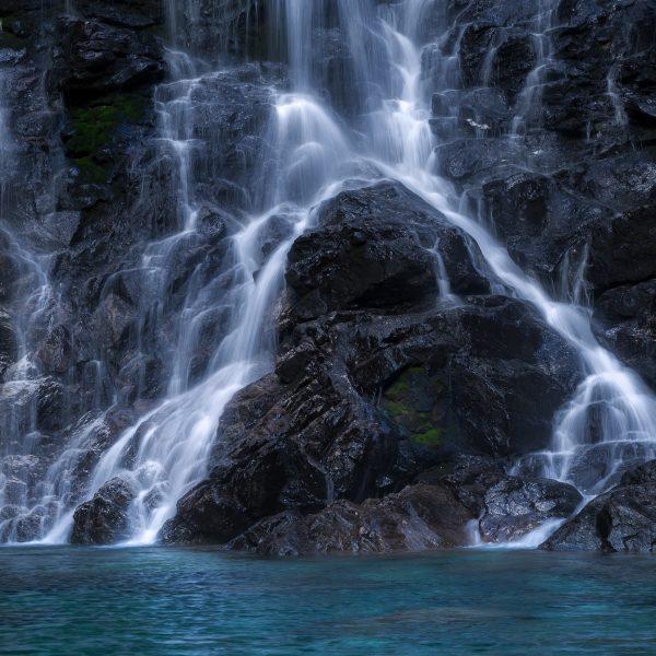 Sonogno Froda, Switzerland-Switzerland-Ticino-Ticino Waterfall