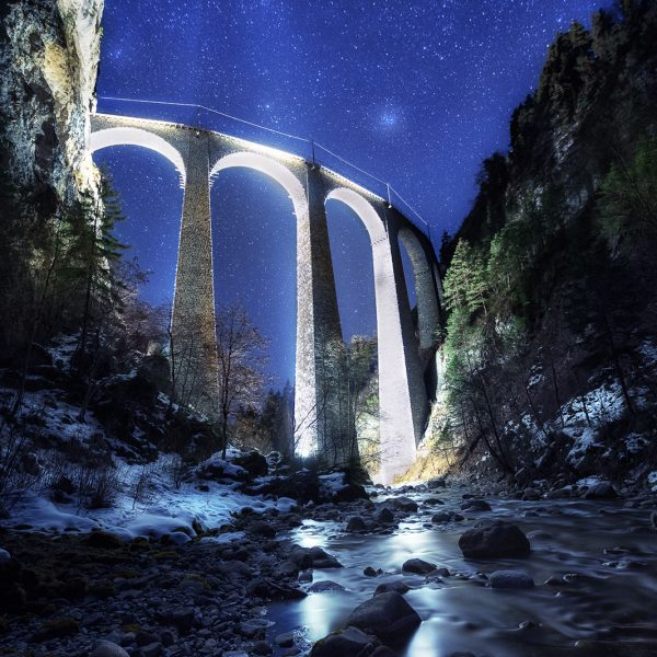 Landwasser viaduct, Switzerland