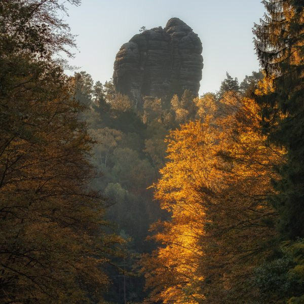 Amselgrund-Saxon-Switzerland Autumn Bastion