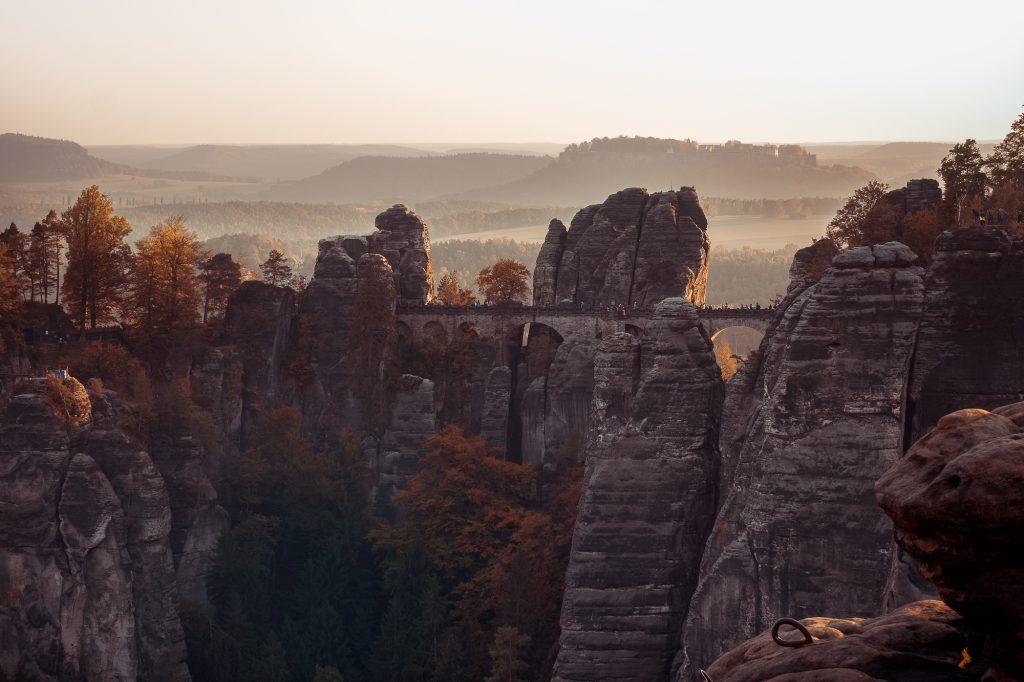 Basteibrücke-Sächsische Schweiz-Germany