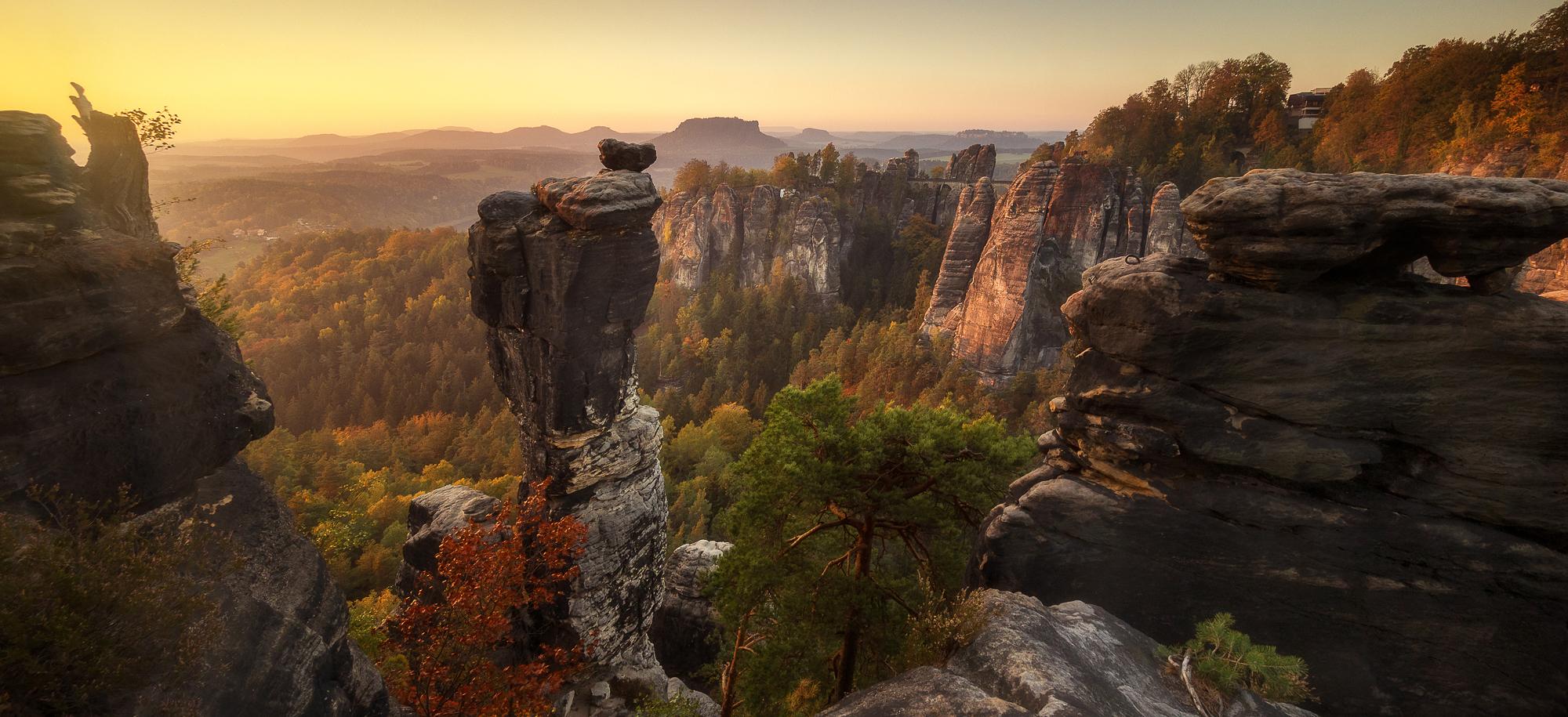 Magisches Elbsandsteingebirge