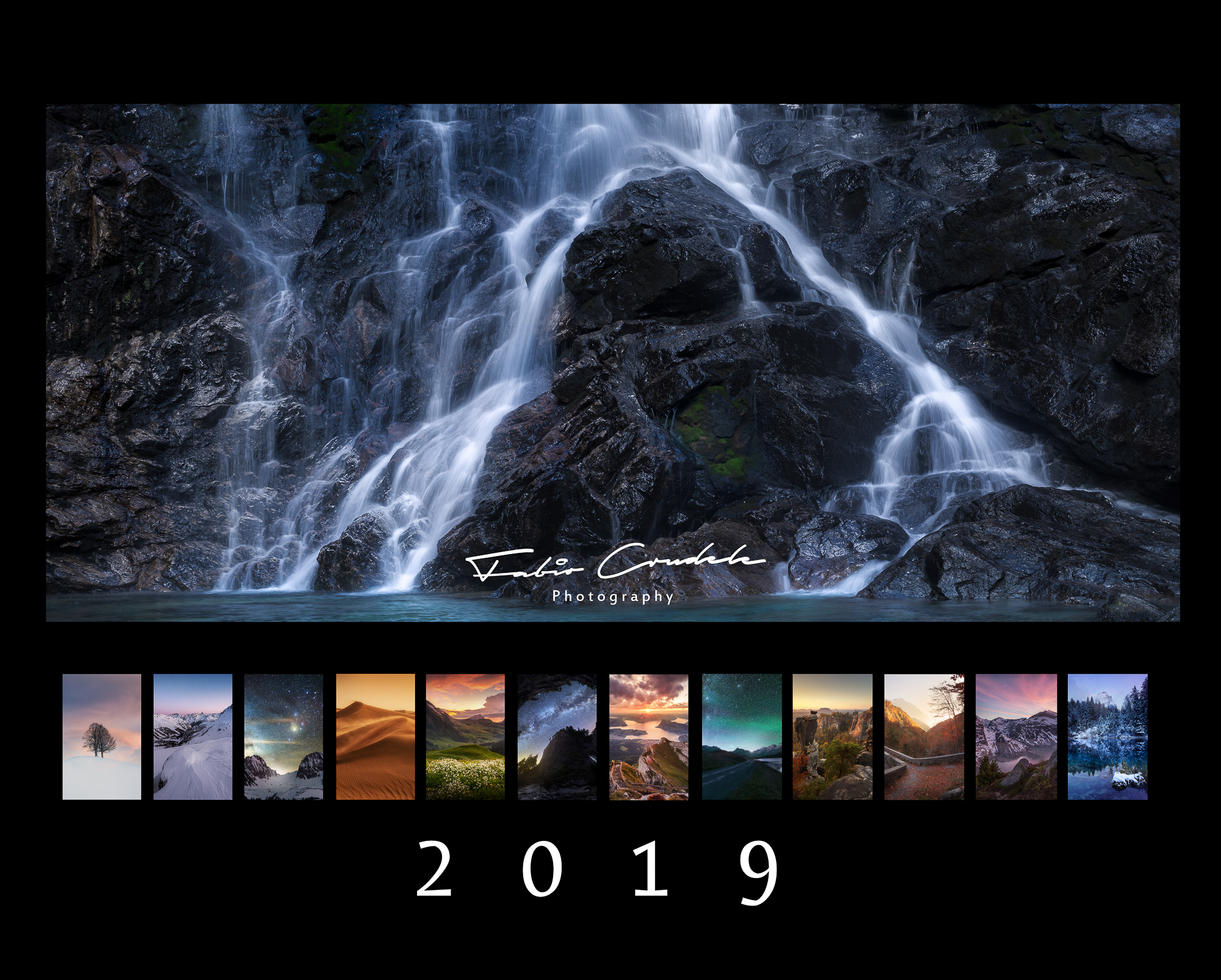calendar 2019 querformat-landscape-milkyway-milky way