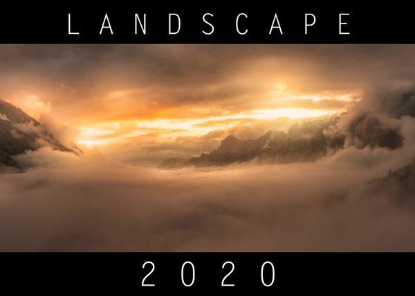 Titelbild Kalender 2020 Landscape Landschaften Schweiz Italien Dolomiten Portgual Algarve Spanien Frankreich USA Joshua Tree